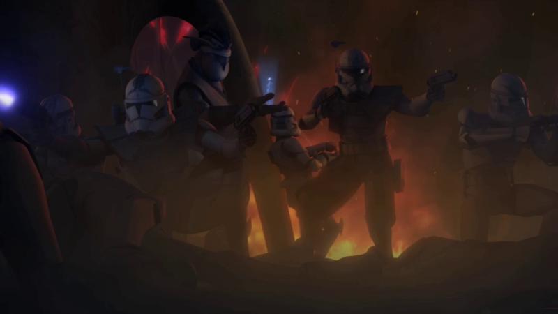 Screenshot de Clone en regardant Star Wars Clone Wars Vlcsna19