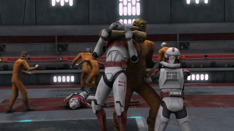 Screenshot de Clone en regardant Star Wars Clone Wars Vlcsna95