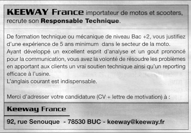 (mil)Keeway recrute Keeway12