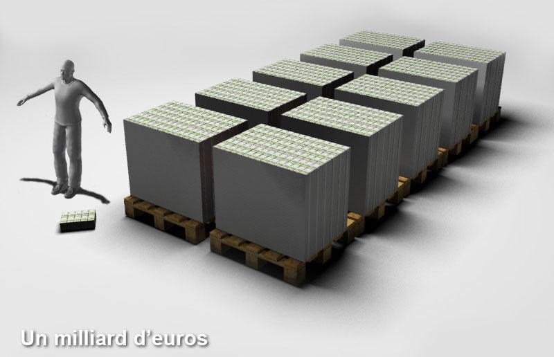 La dette publique française haute comme l'Arc de Triomphe  514