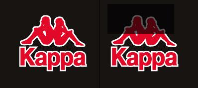 Les Logos qui nous cachent des choses. Quand le subliminal se mêle à la pub... Kappa10