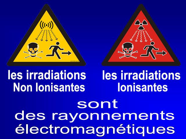 L'exposition aux rayonnements électromagnétiques et l'action du CMO Rni_ri10
