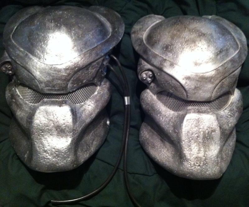 COSTUME PREDATOR GOLDO38 &  SCAR et objets echelle 1 2_casq10