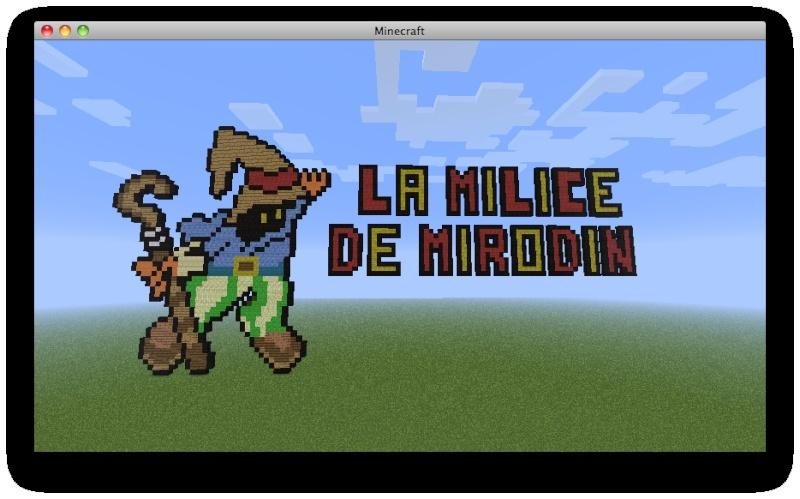 Comment Mirodin en bave pour trouver des trucs à mettre pour la vidéo de la Milice ^^ Captu137