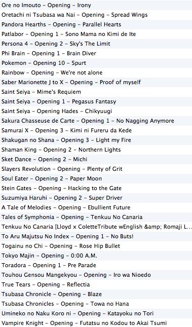 Playlist issue de culture japonaise (Jeux + Animés) Captu373