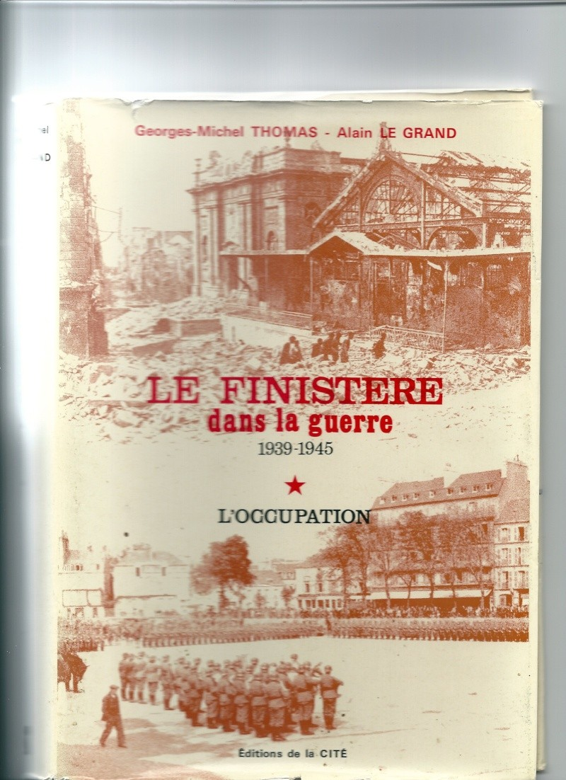 Le Finistère Dans La Guerre N° 1 - L'occupation  Numari12