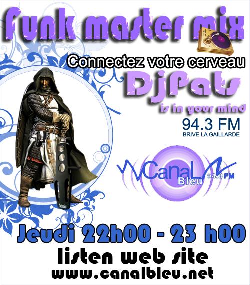 Funk Master Mix sur la FM BRIVE LA GAILLARDE Canalb10