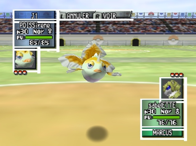 Shinies sur Pokémon Stadium Poissi10