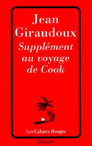 [Giraudoux, Jean] Supplément au voyage de Cook Sans-t12