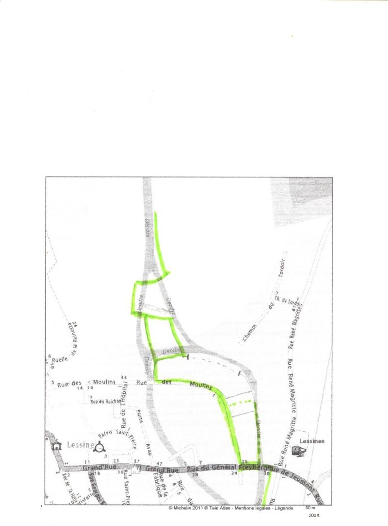 RAVeL 4 (part 04) Ath - Lessines - 01 Itinéraire N°1 - W1 - Entre Dendre et Hauts-Pays - partie Lessines - Ath (ex RAVeL 4  Lessines - Ath) Kaart_11