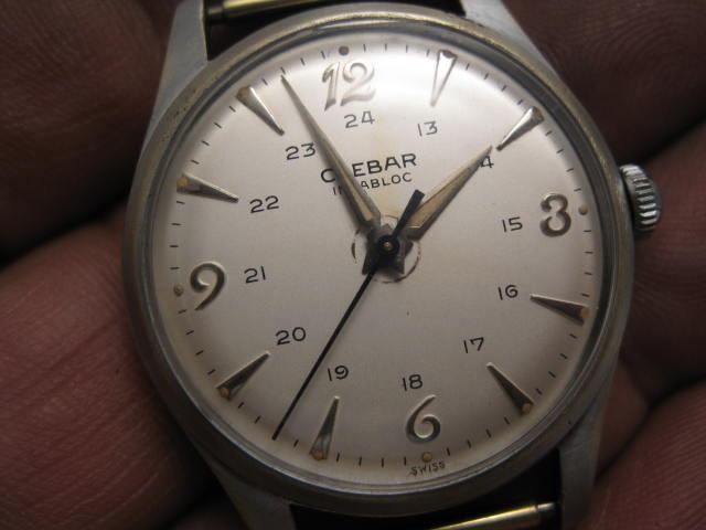 Les marques obscures, oubliées, disparues ... le plaisir des collectionneurs de montres anciennes ! Clebar11
