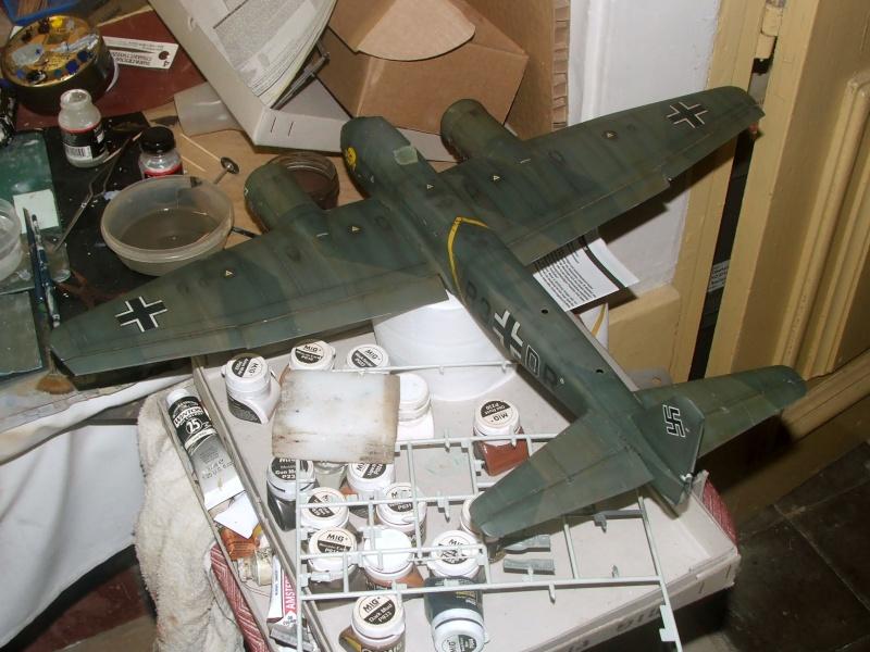 In progress.....1/32nd Junkers Ju88 A1 Dscf2110
