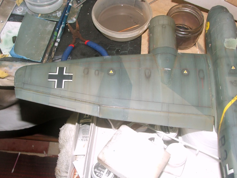 In progress.....1/32nd Junkers Ju88 A1 Dscf2111