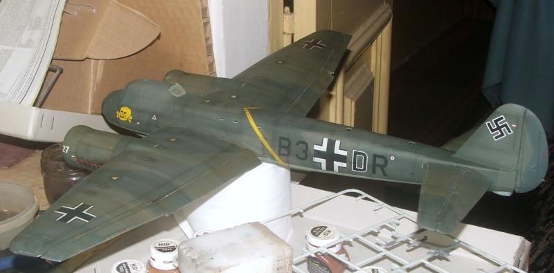 In progress.....1/32nd Junkers Ju88 A1 Dscf2112