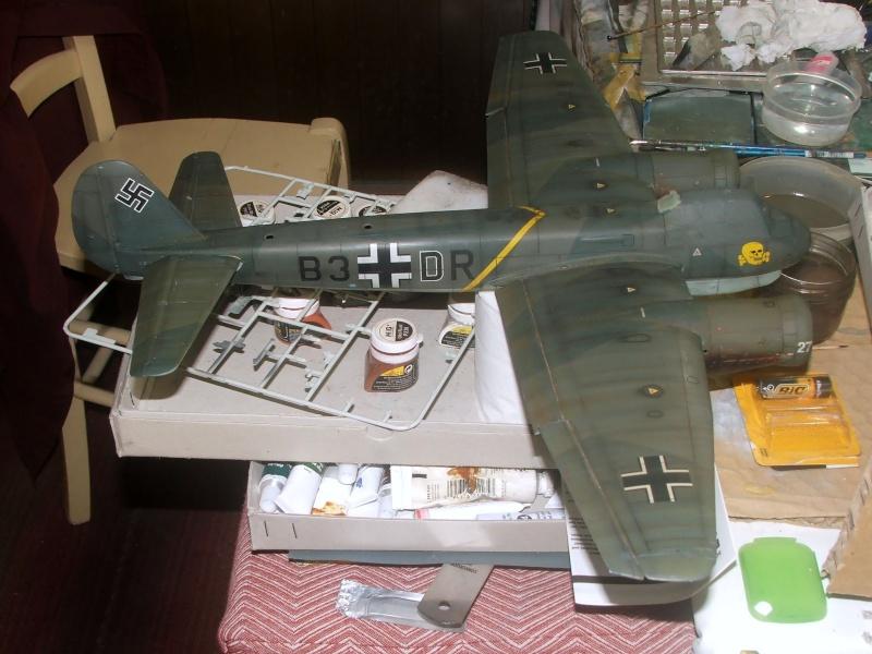 In progress.....1/32nd Junkers Ju88 A1 Dscf2113