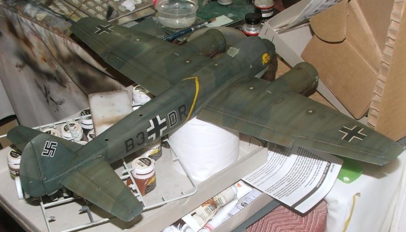 In progress.....1/32nd Junkers Ju88 A1 Dscf2114