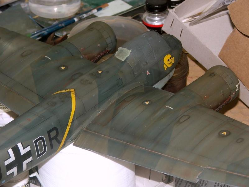 In progress.....1/32nd Junkers Ju88 A1 Dscf2116