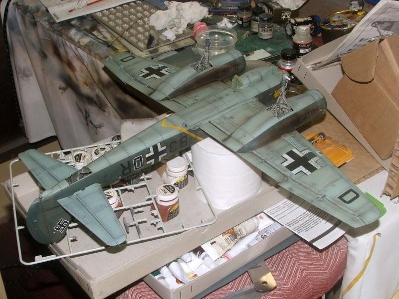 In progress.....1/32nd Junkers Ju88 A1 Dscf2118
