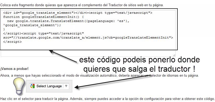 Traduce tu foro a cualquier idioma con el traductor de Google 19310