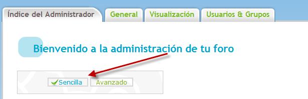 No me aparece la opción para activar el HTML en mi foro desde el PA ¿Como arreglarlo? 29410