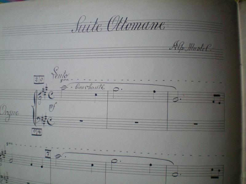 """Alphonse MUSTEL: """"Scène / Suite ottomane"""": Composition mystérique Docume12"""