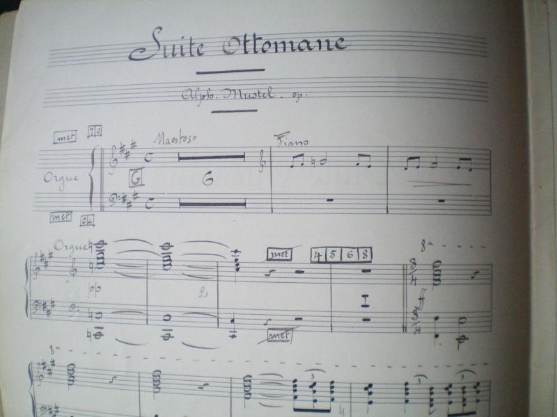 """Alphonse MUSTEL: """"Scène / Suite ottomane"""": Composition mystérique Docume16"""
