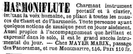 HARMONIFLUTE MAYER MARIX ... Harmon10