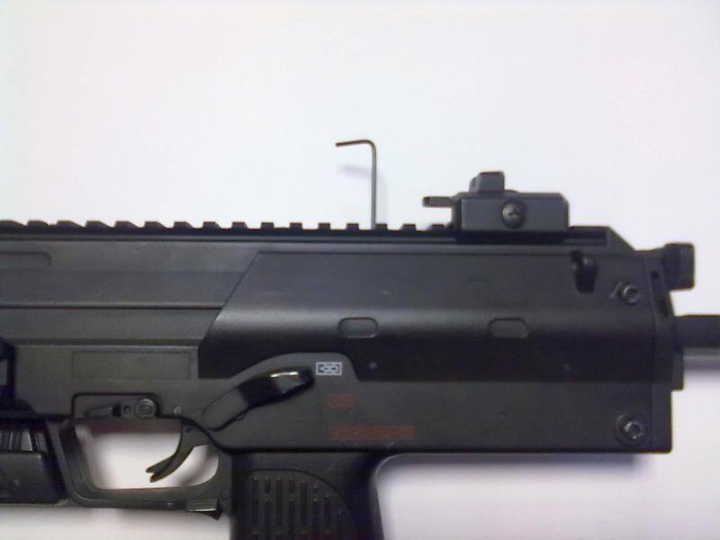Ajuste motor MP7 R-4 Ajuste11