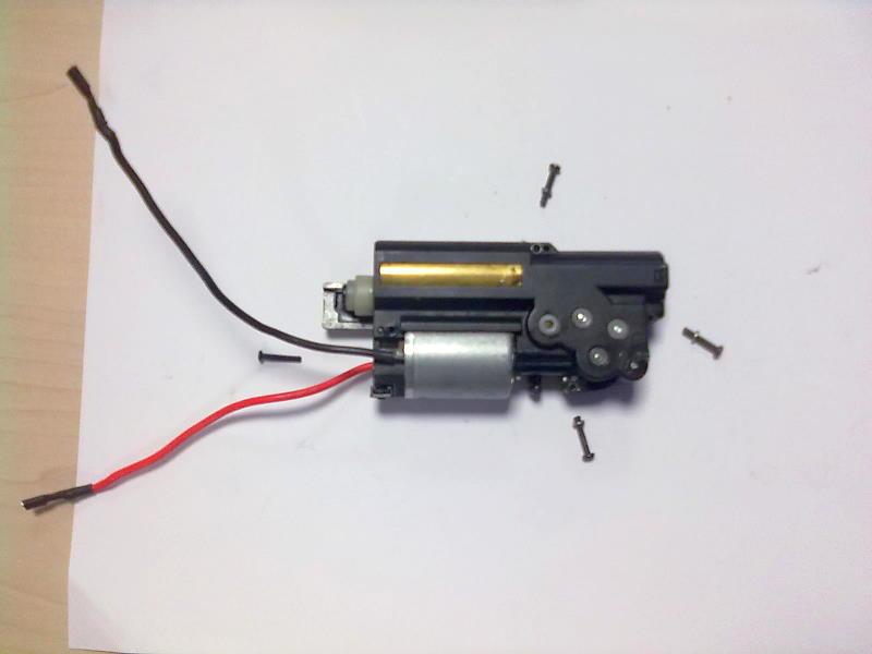 Ajuste motor MP7 R-4 Ajuste12