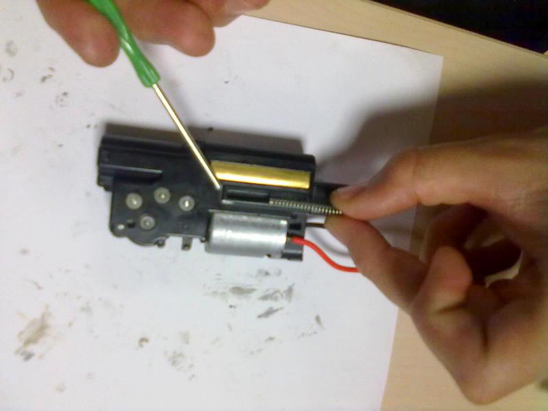 Ajuste motor MP7 R-4 Ajuste15