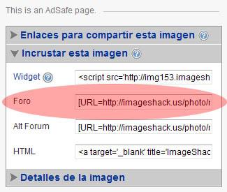 Como subir imagenes a Imageshack en el foro Copiar10