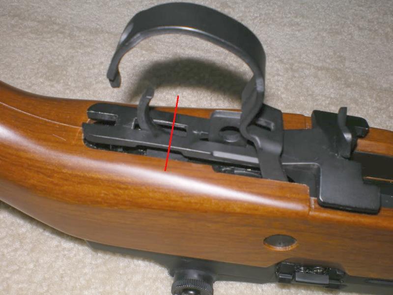 Problema con selector de tiro en M14 669 JAE-100 Kart Cut Off Lever a fondo Trigge10