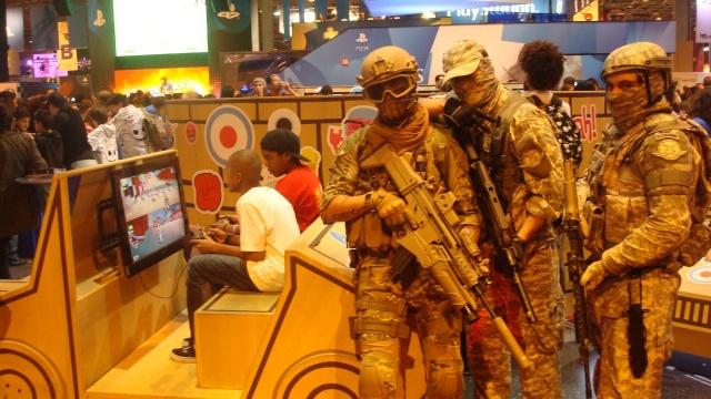 Paris Games Week 2012 en compagnie de la The Unit 17190510