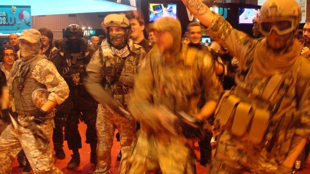 Paris Games Week 2012 en compagnie de la The Unit 17739110
