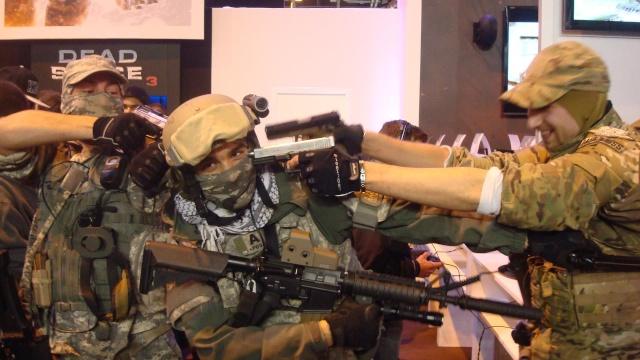 Paris Games Week 2012 en compagnie de la The Unit 28112110