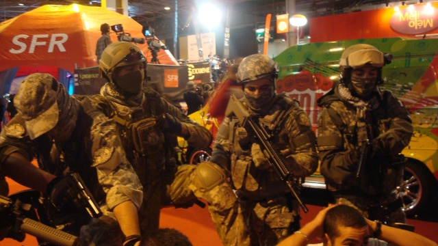 Paris Games Week 2012 en compagnie de la The Unit 61594310