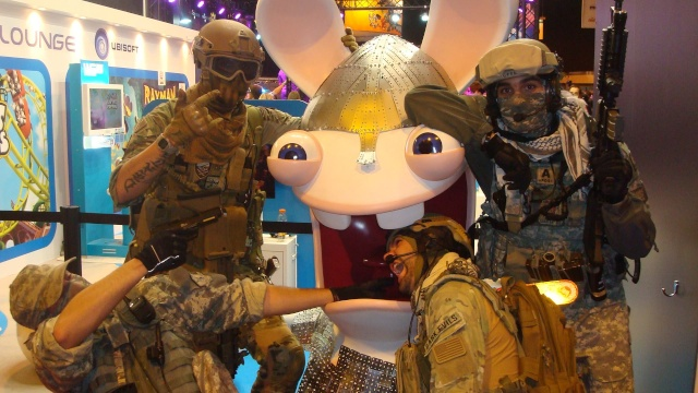 Paris Games Week 2012 en compagnie de la The Unit 66455510