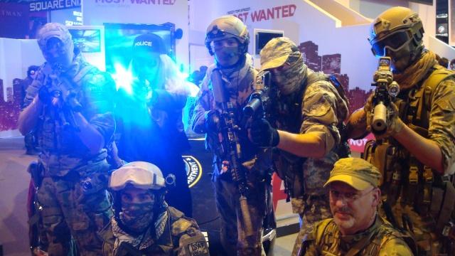 Paris Games Week 2012 en compagnie de la The Unit 66501210