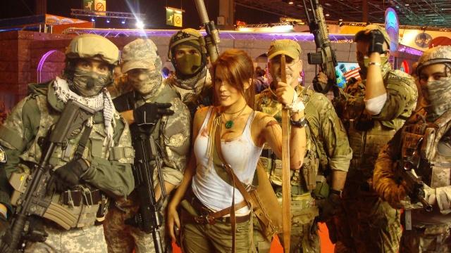 Paris Games Week 2012 en compagnie de la The Unit 66567710