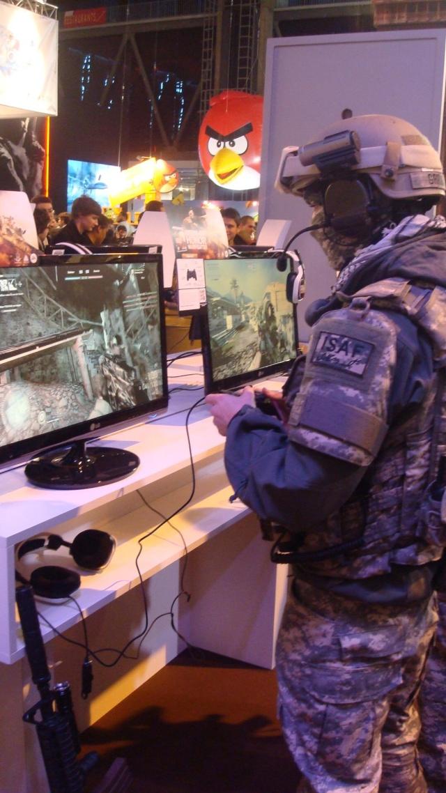 Paris Games Week 2012 en compagnie de la The Unit 66579010