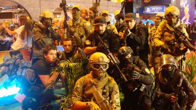 Paris Games Week 2012 en compagnie de la The Unit 68053710