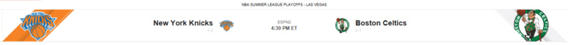 Las Vegas Summer League - Game On! - Game 4 vs New York Knicks Screen36