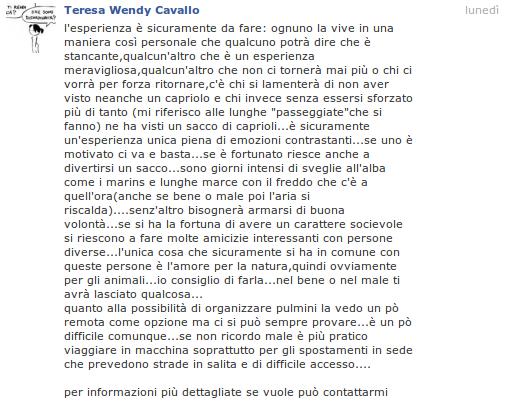 VII° anno di censimento del capriolo italico 2012 Teresa11
