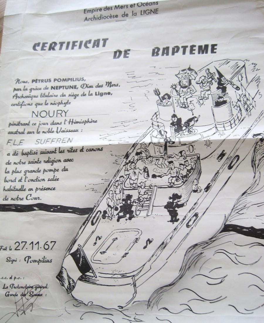 [ Les traditions dans la Marine ] Les diplômes de la Ligne - Page 3 Img_1913