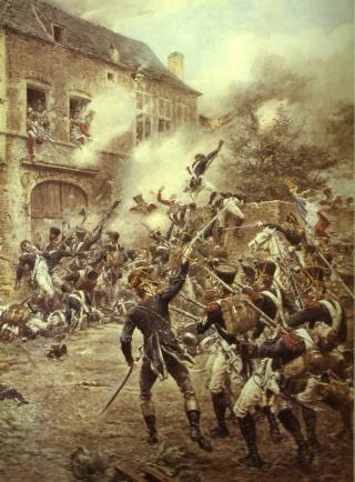 Pourquoi le sol du champ de bataille de Warterloo était boueux? Waterl10