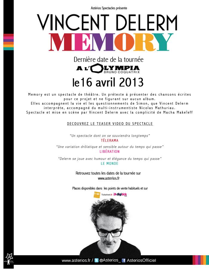 Vincent Delerm à l'Olympia, le 16 avril 2013 Cpdele10