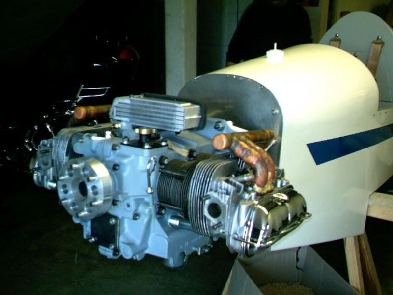 Pour avionné un moteur volskwagen 1600 Prolon10