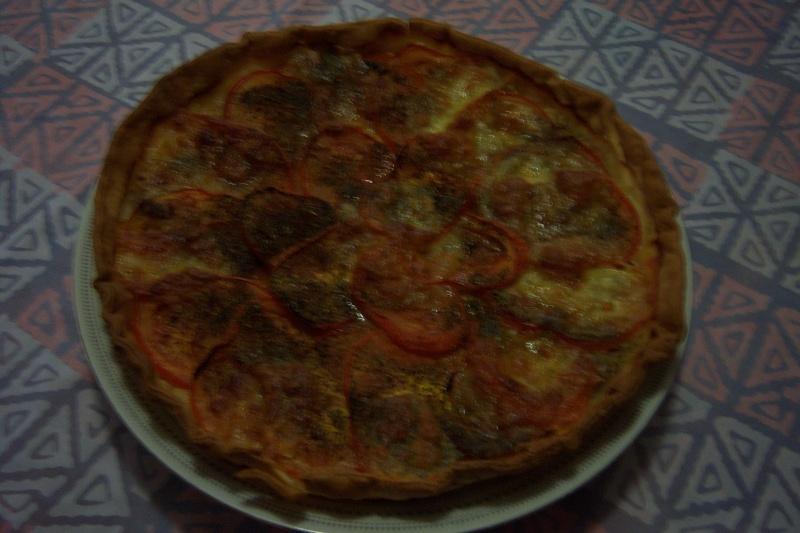 Tarte provençale au thon et tomates 100_1517