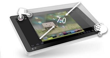 NOVO7, il primo tablet economico con Android 4.0 Tablet10