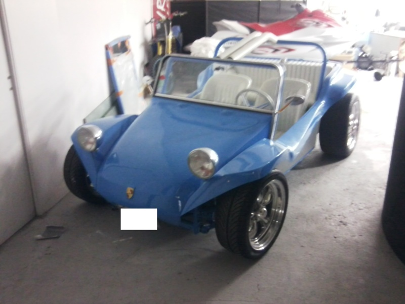 Un beau petit Buggy Bleu Porsche RS Photo023